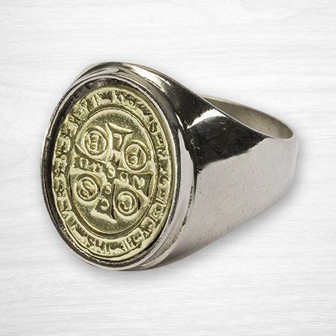 St Benedict Key Ring